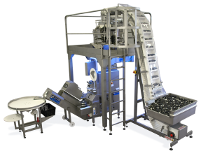 Economy bag with rotational multi-head weigher